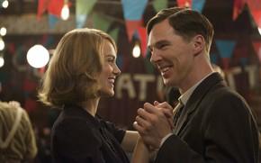 Picture dance, pair, Benedict Cumberbatch, Benedict Cumberbatch, 2014, The Imitation Game, The imitation game