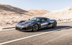Picture speed, supercar, 2018, Rimac, electric car, C-Two