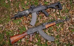 Picture weapons, tuning, Machine, Gun, weapon, custom, Kalashnikov, Custom, AKM, Assault rifle, Russian, AKM, assault rifle, …