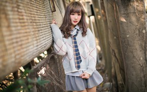 Picture girl, Asian, cute