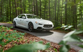 Picture Maserati, front view, 2018, Ghibli, Novitec, GranSport