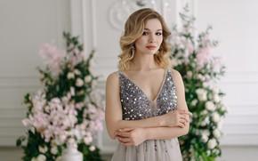 Picture look, dress, bokeh, Kirill Sokolov, Ekaterina Alenina