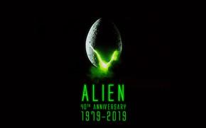 Picture Alien, 40th Anniversary, sci fi fiction