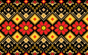 Picture pattern, ornament, seamless background