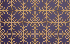 Picture background, gold, pattern, texture, ornament, Vintage, Gold, Floral