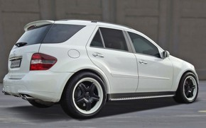 Picture Mercedes-Benz, Kicherer, Ice, W164, the second generation SUV M-class, ML420