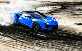 Picture Auto, Smoke, Sport, Asphalt, Rendering, Supercar, Concept Art, Sports car, SuperSport, Transport & Vehicles, Benoit …