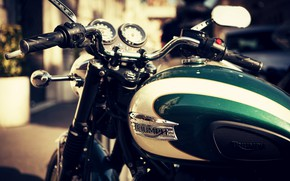 Picture Bike, Triumph, Motorcycle