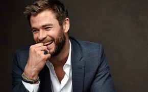 Wallpaper smile, male, actor, Chris Hemsworth, Chris Hemsworth