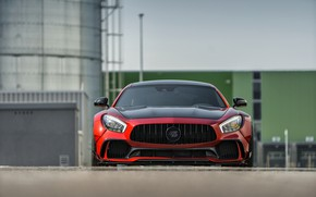 Picture Mercedes-Benz, front view, AMG, 2018, Prior Design, GT S, PD700GTR