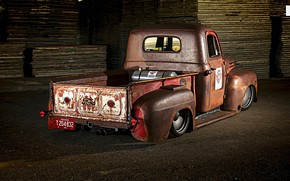 Picture Ford, Truck, Low, Rusty
