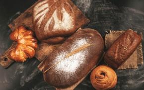 Picture bread, cakes, bun