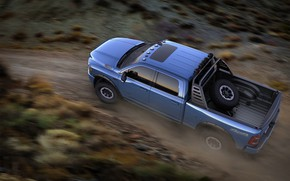 Picture Dodge, Speed, Truck, Off Road, Ram 2500