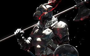 Picture armor, helmet, knight, Goblin Slayer