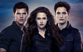 Picture vampires, werewolf, Edward Cullen, Bella Swan, Jacob, The Twilight Saga Dawn, The Twilight Saga Breaking ...