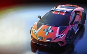 Picture machine, Lamborghini, concept, Huracan, Dirt