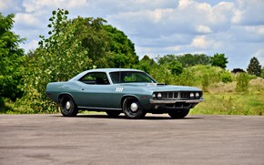Picture Classic, Muscle car, Hemi, Plymouth Cuda