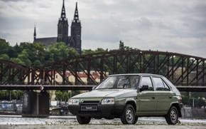 Picture Skoda, hatchback, Skoda, the five-door, 1987–1994, Favorit