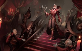 Picture ladder, claws, the owner, servants, Legends of Runeterra