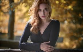 Picture girl, model, Martin Fuhrmann