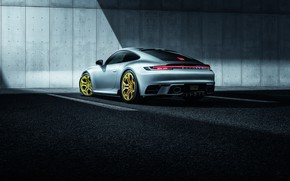 Picture 911, Porsche, rear view, Carrera, TechArt, 992, 2019