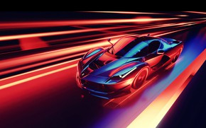 Picture Car, Speed, Abstraction
