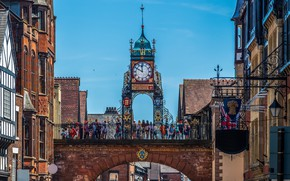 Picture the city, watch, UK, Chester, Chester, Eastgate Clock