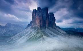 Picture mountains, Italy, Tre Cime di Lavaredo, Секстен Доломиты