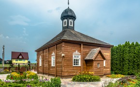 Picture Poland, mosque, wooden, old, Bohoniki