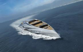 Picture Yacht, The ship, Valkyrie, Calhoun Park, Palmer Johnson