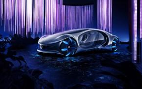 Picture Mercedes-Benz, plants, car, innovative concept car, VISION AVTR