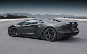 Picture Lamborghini, supercar, Aventador, Mansory, Mansory CARBONADO Full Carbon