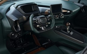 Picture Aston Martin, coupe, devices, V12, screens, Victor, 2020