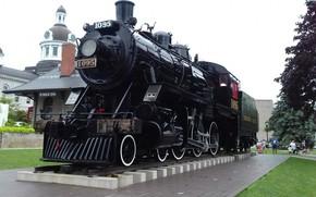 Picture city, train, railroad, kingston
