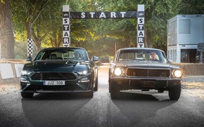 Picture Mustang, Ford, Fastback, 2018, 1968, Mustang GT, Bullitt, Goodwood