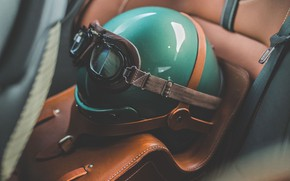 Picture Aston Martin, Glasses, Green, Helmet, 2019, DBS 59