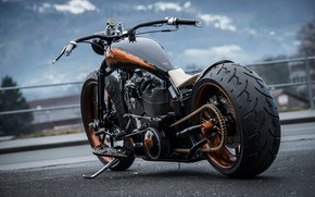 Picture Tuning, Custom, Motorcycle, Thunderbike