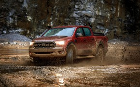 Picture light, squirt, earth, Ford, dirt, pickup, Storm, dampness, Ranger, 2020