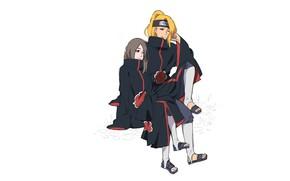 Picture girl, Naruto, Naruto, Deidara