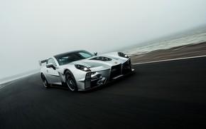 Picture fog, movement, supercar, Ginetta, Akula, V8, 2019, 600 HP