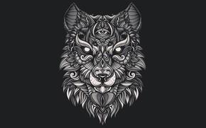 Picture patterns, wolf, Hastaning Bagus Penggalih