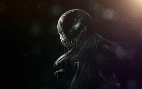 Picture Language, Teeth, Marvel, Venom, Venom, Symbiote, Creatures, Venom Fanart