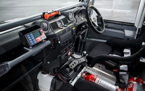 Picture interior, Land Rover, Defender, 2013, 2014, Challenge, Bowler