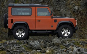 Picture Land Rover, 2009, Defender, in profile, Limited Edition