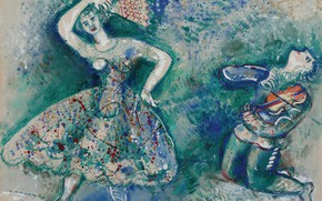 Picture 1928, MARC CHAGALL, DANCE