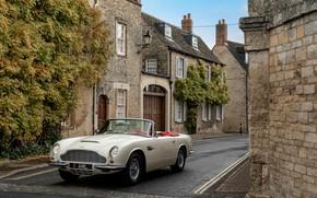 Picture Aston Martin, street, convertible, 1970, 2018, Heritage EV Concept, DB6 Mark II Volante