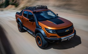 Picture Chevrolet, in motion, pickup, 4x4, Colorado, Z71, 2016, Xtreme Concept
