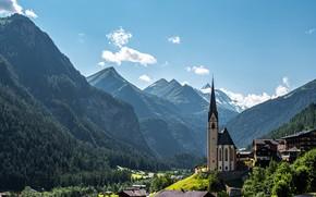 Picture mountains, Austria, Alps, Glockner