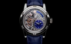 Picture blue, Watch, Louis Moinet, Tempograph