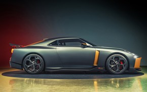 Picture Concept, Nissan, side view, 2018, ItalDesign, GT-R50